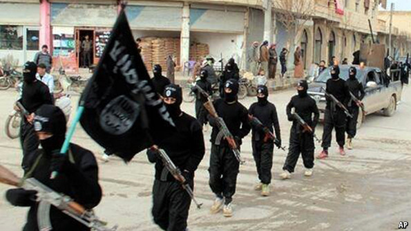 Insurgents of the ISIS - AP